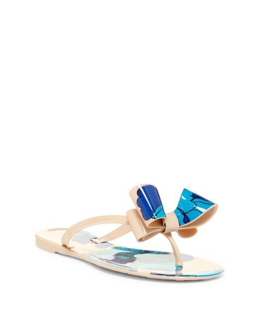 Dizzy - Natural Leaves Sandal - Lyst