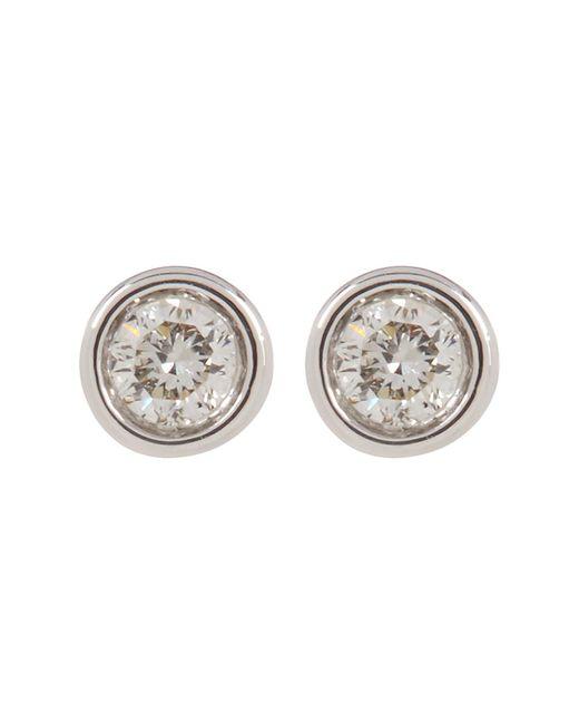 Ron Hami - Metallic 14k White Gold Diamond Stud Earrings - 0.07 Ctw - Lyst