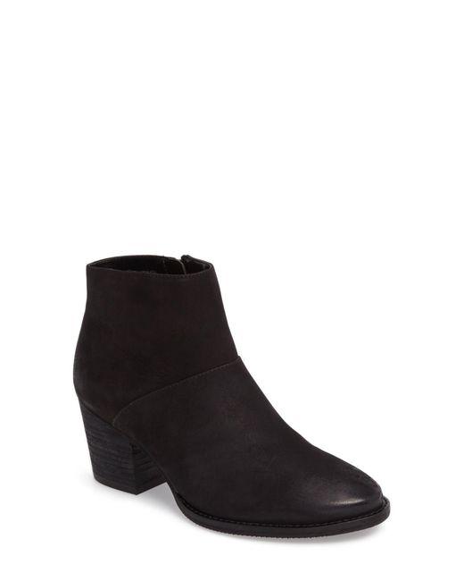 Blondo - Black Nelli Waterproof Leather Bootie - Lyst