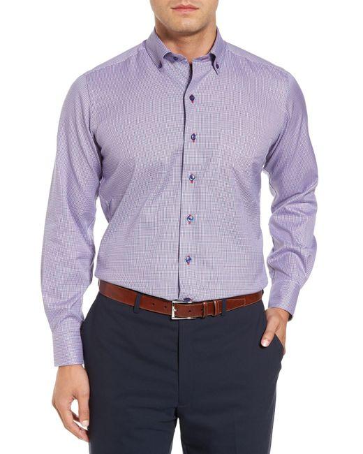 David Donahue - Multicolor Regular Fit Plaid Sport Shirt for Men - Lyst