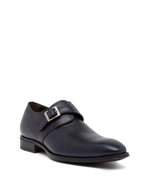 Mezlan - Blue Orville Monk Strap Shoe for Men - Lyst