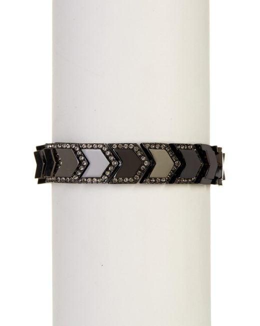 Botkier   Multicolor Linked Chevron Bracelet   Lyst