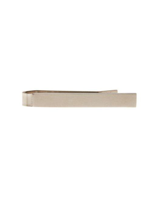 Würkin Stiffs | Metallic Silver-tone Tie Bar | Lyst