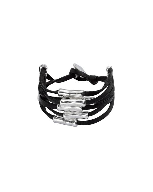 Uno De 50 - Black Hossegor Bracelet - Lyst
