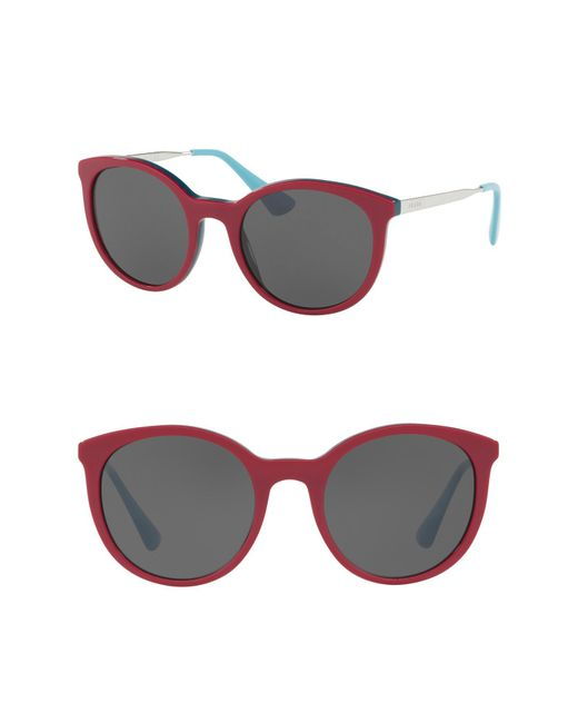 Prada - Multicolor 53mm Phantos Sunglasses - Lyst