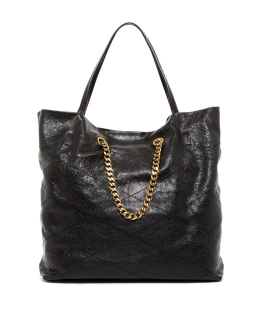 Lanvin | Black Sugar Medium Quilted Leather Shopper | Lyst