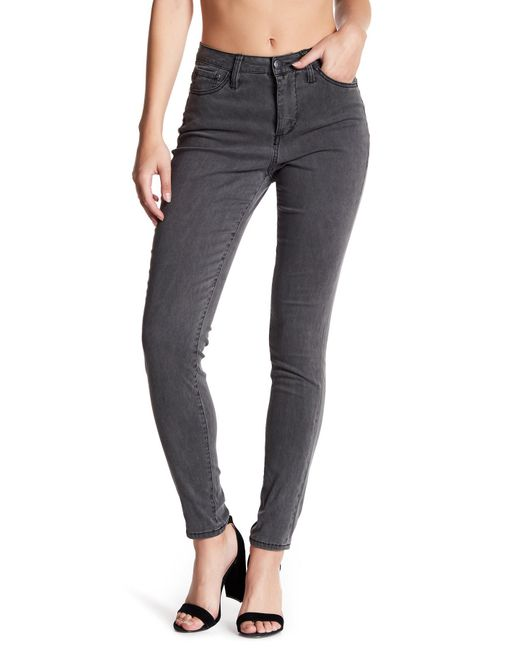 Jag Jeans | Black Gwen Stretch Skinny Highrise Pants | Lyst