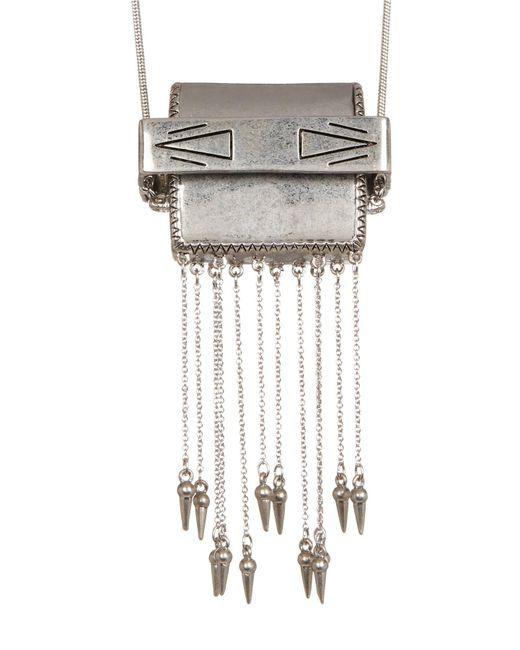 House of Harlow 1960 | Metallic Ayita Satchel Pendant Necklace | Lyst
