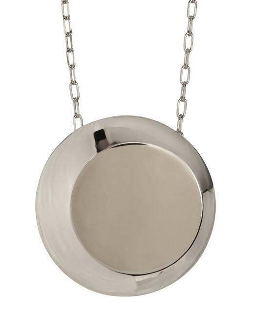 Botkier | Metallic Round Pendant Chain Necklace | Lyst