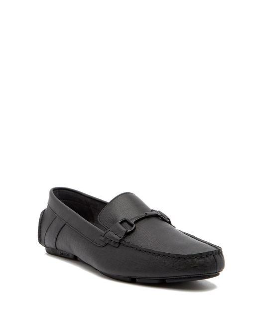 Calvin Klein - Black Mox Loafer for Men - Lyst