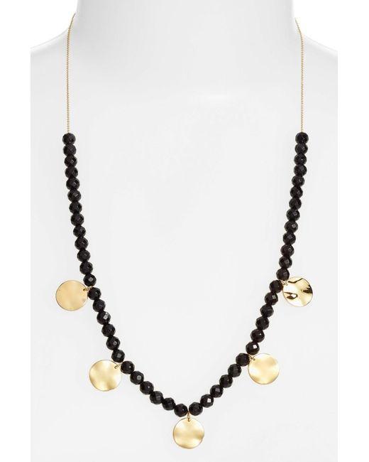 Gorjana - Metallic Adjustable Necklace - Lyst