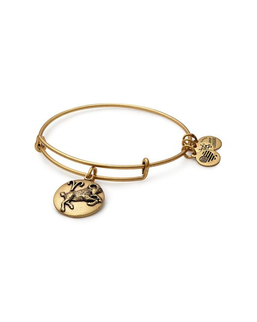 ALEX AND ANI - Metallic Aries Expandable Bangle - Lyst