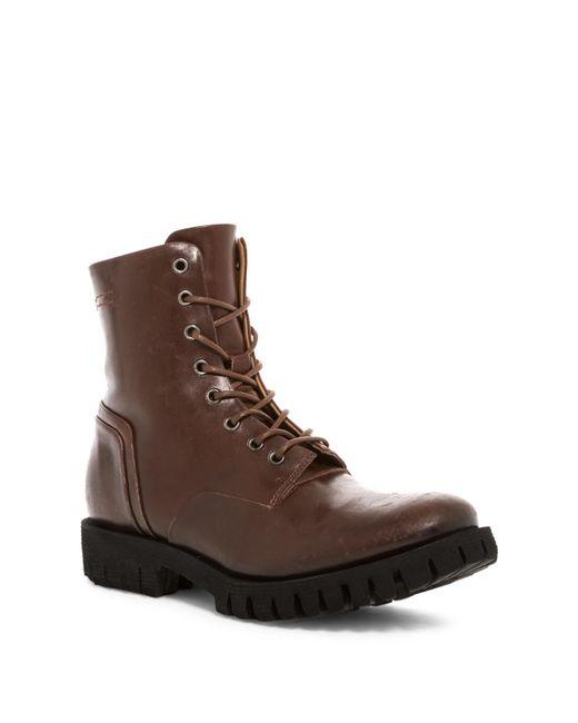 DIESEL - Brown Kross D-line Depp Boot for Men - Lyst
