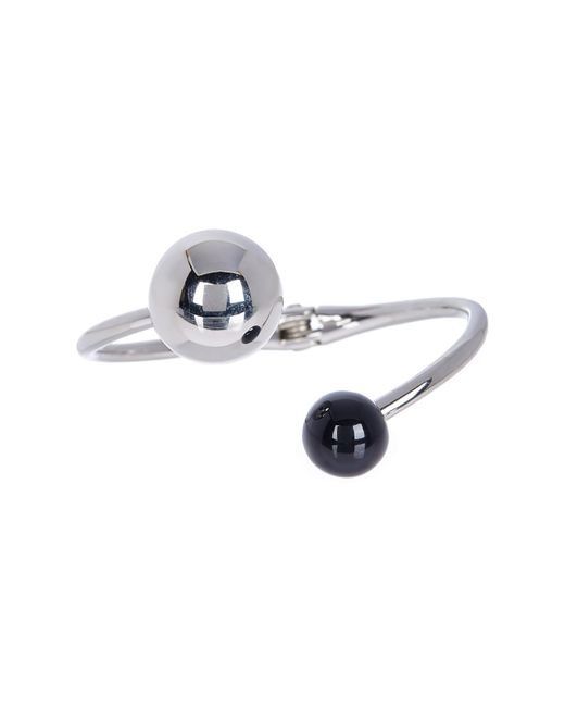 Paige Novick | Metallic Dual Enamel High Polish Ball Hinged Bracelet | Lyst