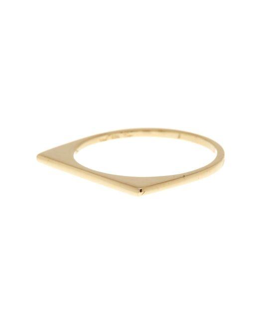 Bony Levy | Metallic 14k Yellow Gold Stackable Bar Ring | Lyst