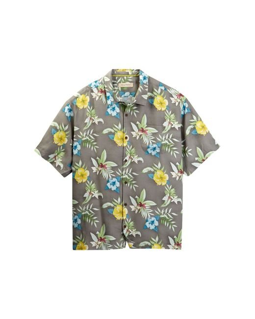 Tommy Bahama Ethereal Blooms Silk Camp Shirt Big Tall