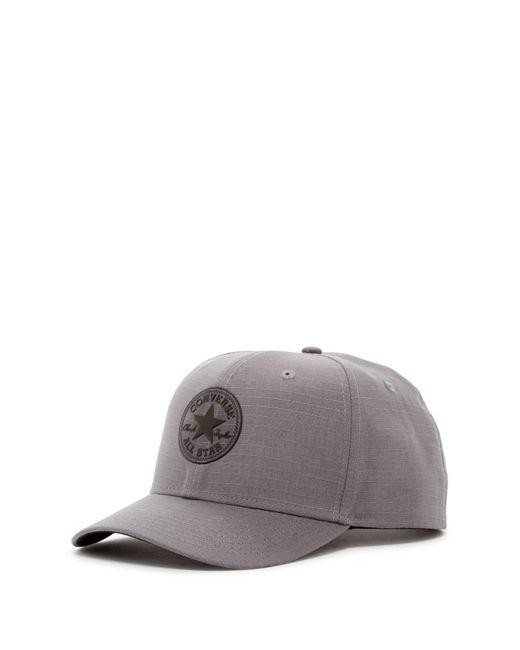 Converse | Gray Ripstop Snapback Cap for Men | Lyst