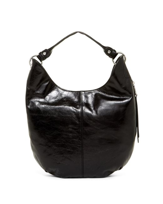 Hobo | Black Gardner Leather Convertible Clutch/crossbody | Lyst