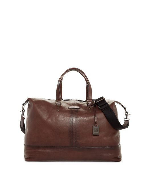 Frye | Brown Ben Artisan Leather Duffle for Men | Lyst
