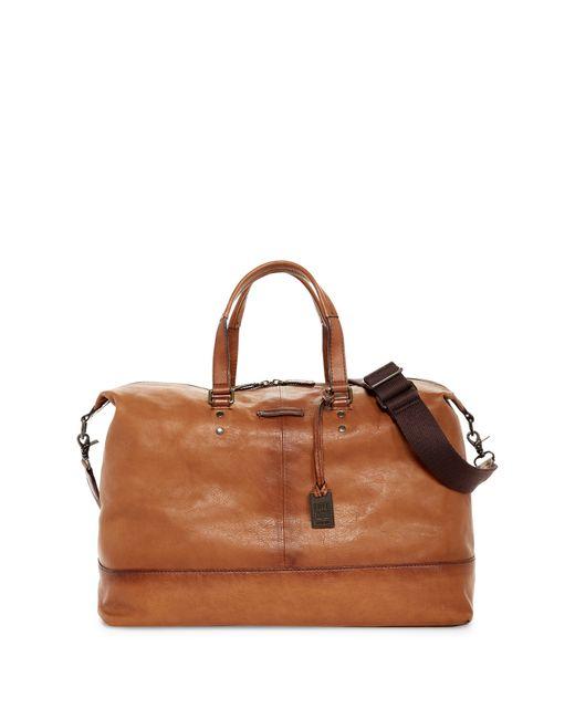Frye | Brown Genuine Leather Ben Artisan Duffle for Men | Lyst