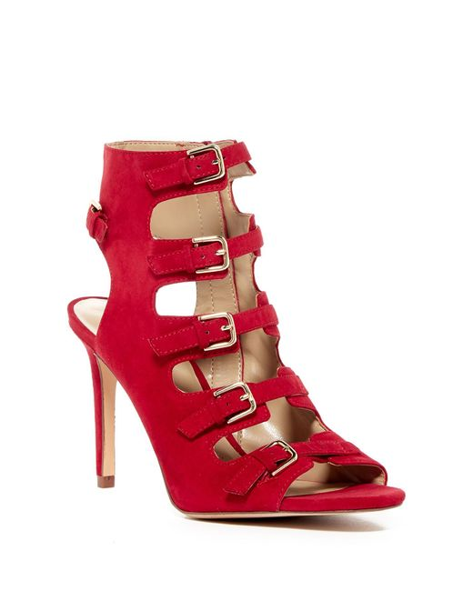 Enzo Angiolini | Red Florencia High Heel | Lyst