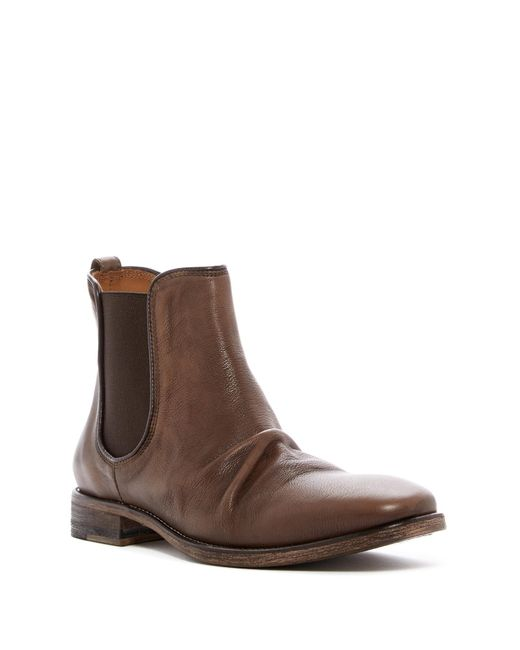 John Varvatos | Brown Fleetwood Sharpei Boot for Men | Lyst