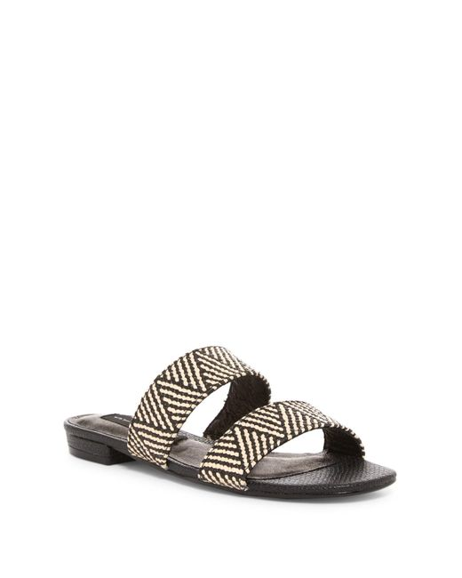 Steven by Steve Madden | Black Friendsy Slide Sandal | Lyst