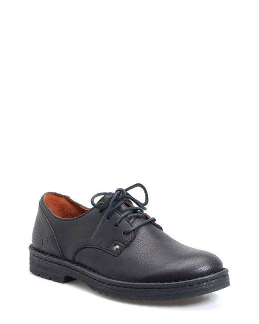 Born | Black Samson Plain Toe Derby for Men | Lyst