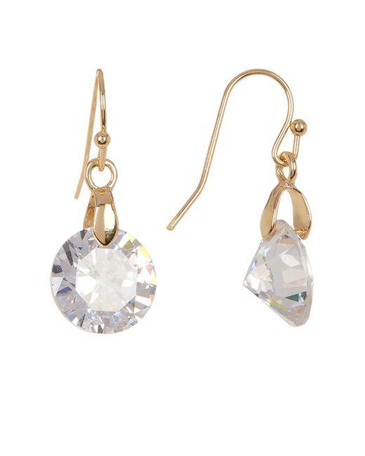 Joe Fresh | Multicolor Single Stone Drop Earrings | Lyst