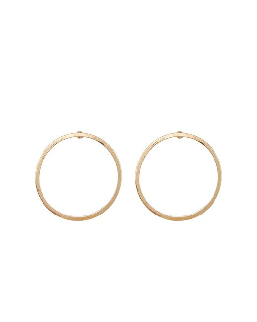 Joe Fresh | Metallic Hoop Earrings | Lyst