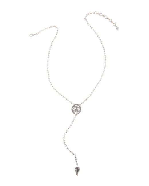 Lucky Brand | Multicolor Openwork Lariat Necklace | Lyst