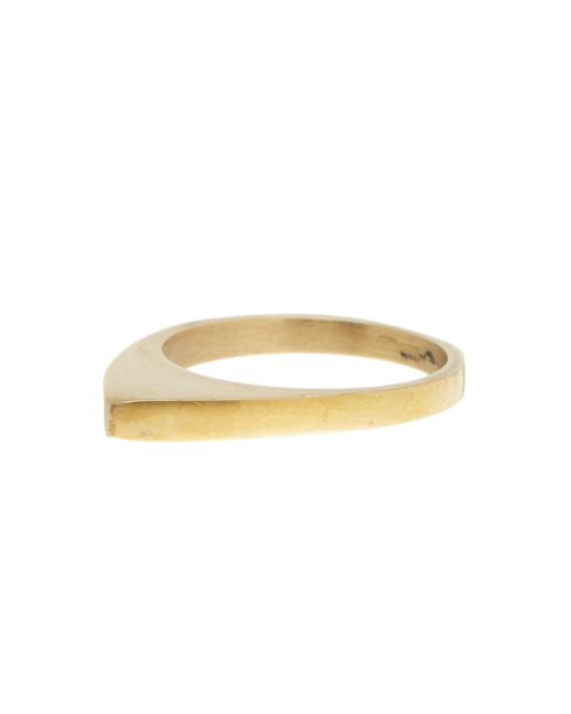 Soko | Metallic Smooth On Point Ring - Size 7 | Lyst