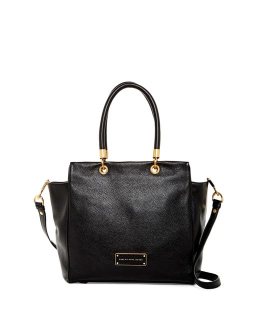 Marc By Marc Jacobs Bentley Leather Tote In Black
