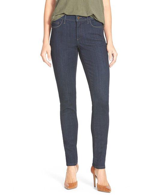 NYDJ   Blue 'ami' Stretch Skinny Jeans   Lyst