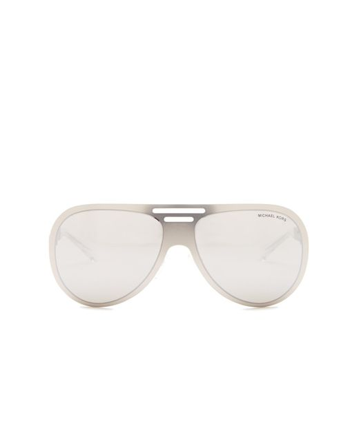 Michael Kors   Metallic Women's Pilot Sunglasses   Lyst