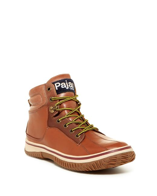 Pajar | Brown Guardo Faux Shearling Lined Snow Boot for Men | Lyst