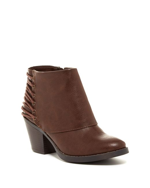 Rampage | Brown Tailspin Ankle Boot | Lyst