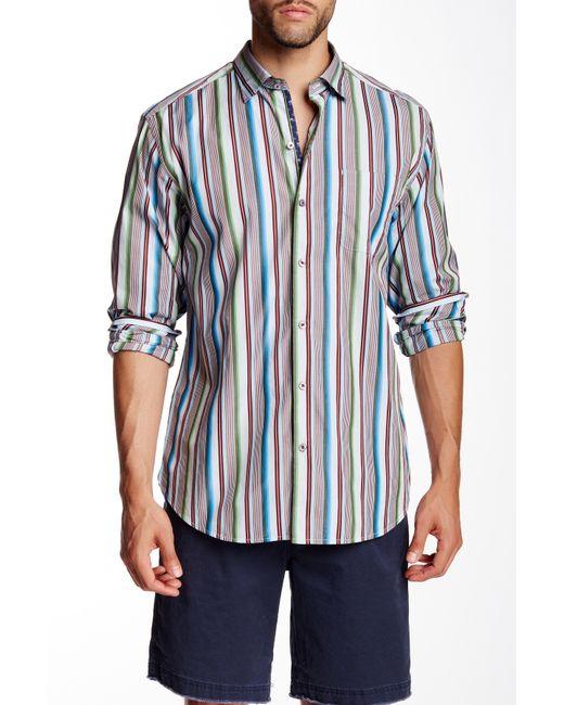 Tommy bahama sunset surf long sleeve regular fit shirt in for Tommy bahama long sleeve dress shirts