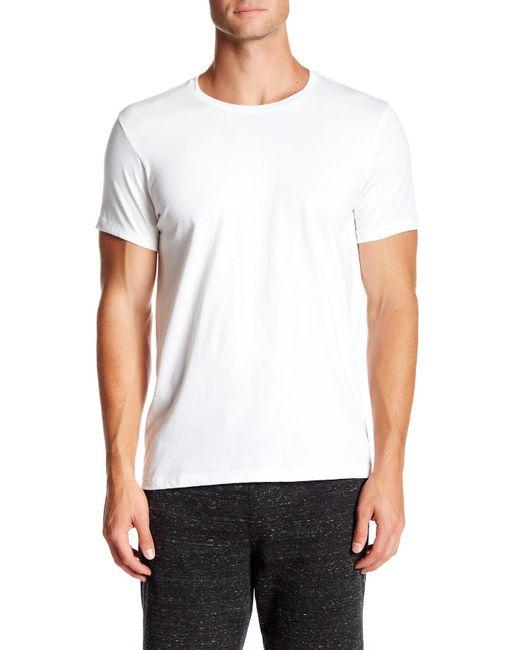Calvin Klein   White Crew Neck Tee - Pack Of 3 for Men   Lyst