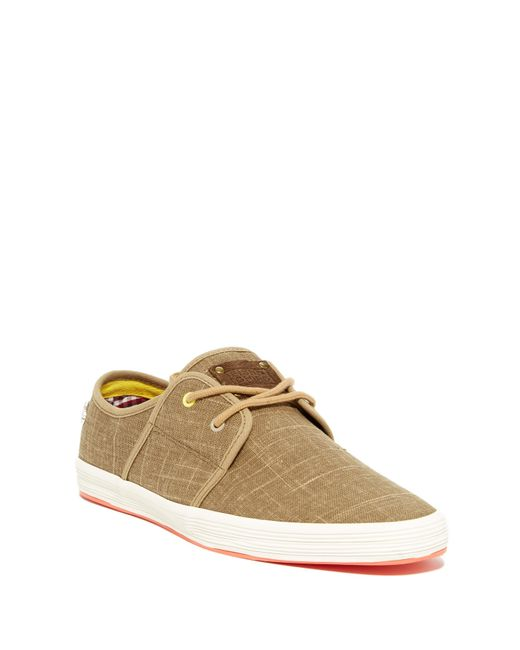 Fish n chips spam 2 sneaker in natural for men lyst for Shoes with fish in them