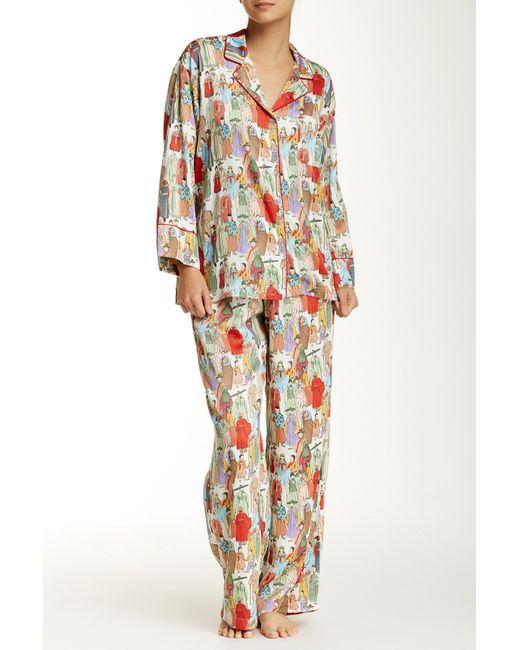 Natori | Black Dynasty Pajamas | Lyst