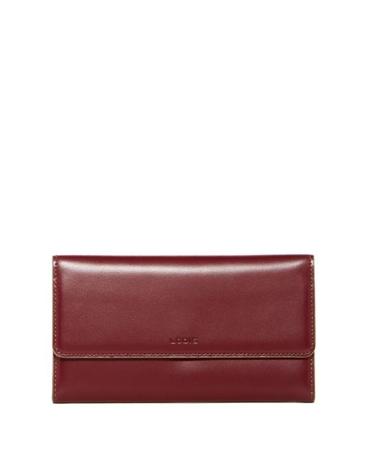 Lodis | Purple Audrey Cami Leather Clutch | Lyst