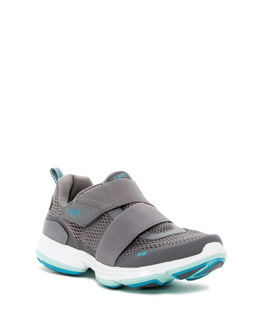 Ryka - Gray Devo Cinch Sneaker - Wide Width Available - Lyst