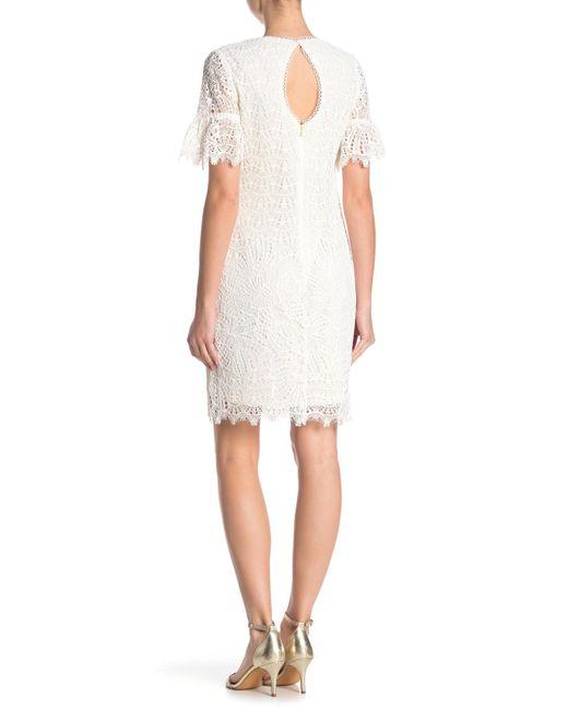 e6fd9e8cd5b ... Trina Turk - White Darling Lace Dress - Lyst