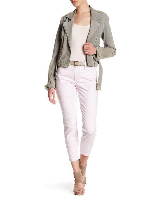 NYDJ | Pink Clarissa Ankle Print Skinny Jean (petite) | Lyst