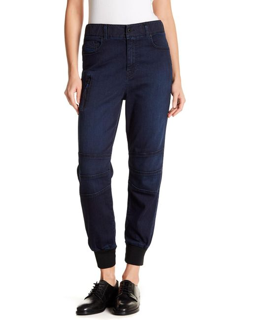 DIESEL - Blue Motion Division Sweat Jeans - Lyst