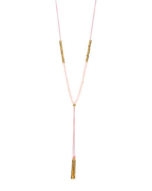 Gorjana - Metallic Power Love Gemstone Necklace - Lyst