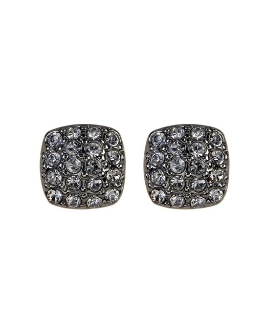 Givenchy | Multicolor Crystal Pave Cushion Stud Earrings | Lyst