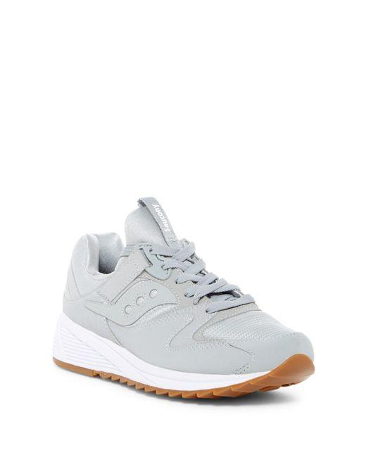 Saucony   Gray Grid 8500 Sneaker for Men   Lyst