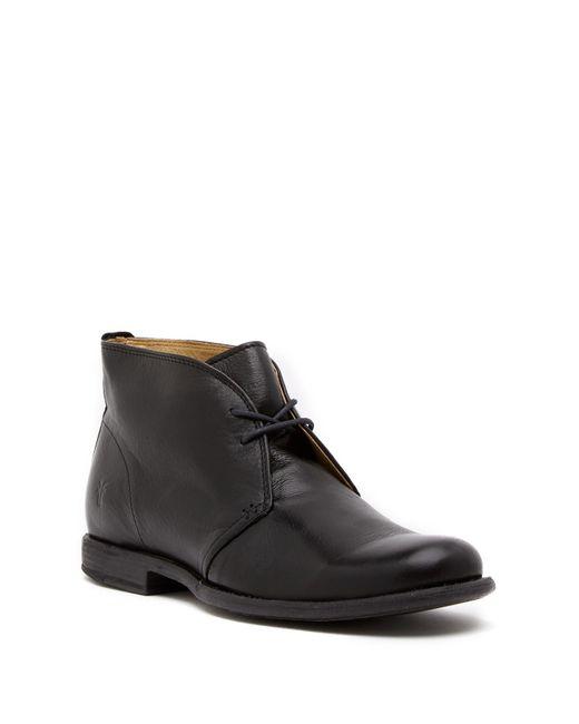 Frye | Black Phillip Leather Chukka for Men | Lyst